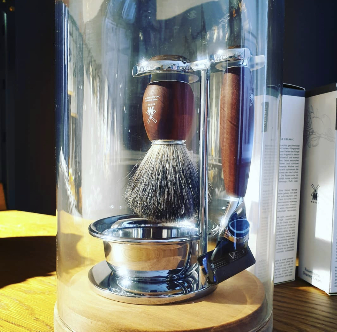 Wet shave
