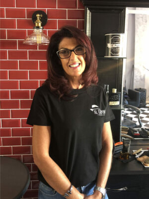 Founder & Owner Dorothy has been a gents barber for over 25 years having trained at The London School of Barbering with expertise in styling, fading, wet shaving and facial massage.